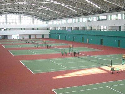 網球場施工