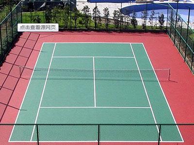 塑胶网球场施工哪家好-专业提供篮球场施工