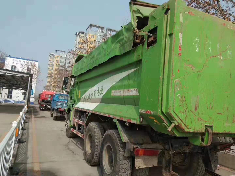 二手德龙垃圾渣土车-供应济宁性价比高的二手德龙自卸车