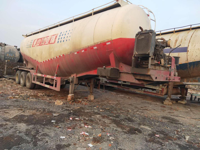 华凌45方散装水泥车|供应济宁实惠的二手散装水泥罐车