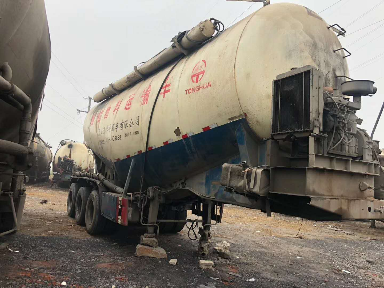 二手45方散装水泥车-济宁二手散装水泥罐车供应商