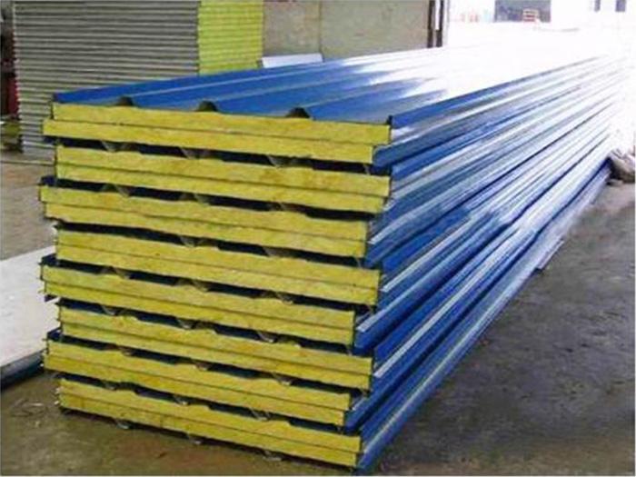 岩棉复合板价格_要买销量好的宁夏岩棉复合板就来银川盛达隆彩钢钢结构