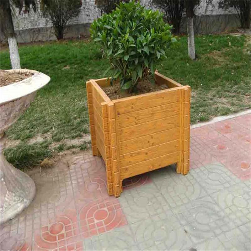 上海價位合理的花箱_超值的仿木花箱直銷