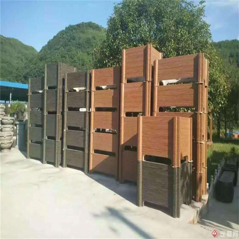 湖南花箱-声誉好的仿木花箱供应商当属肖氏景观工程