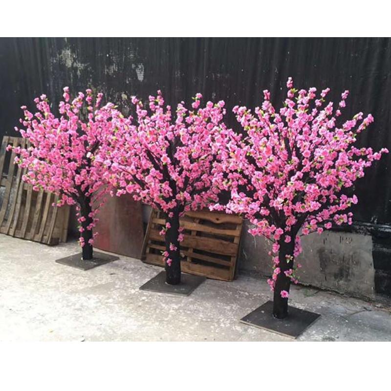 广州优良的仿真桃花树供销 东莞仿真桃花树