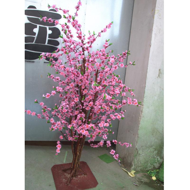 按图片定做仿真树 广州市盛庭_口碑好的仿真桃花树供应商