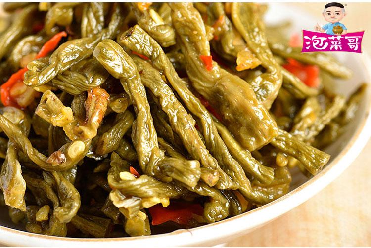 在哪能买到好的风味辣豇豆_四川泡菜哥风味辣豇豆