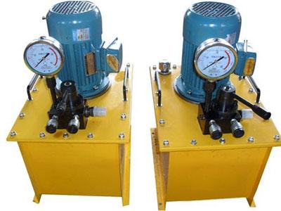 九洲液压供应高压电动泵 24V液压泵站生产厂家