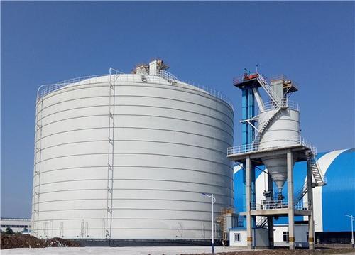 永正水泥储存钢板仓-福莱尔钢板仓提供有品质的大型钢板仓