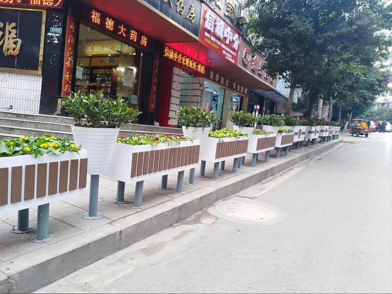 市政PVC花箱护栏报价|想买PVC花箱当选南宏园林绿化工程