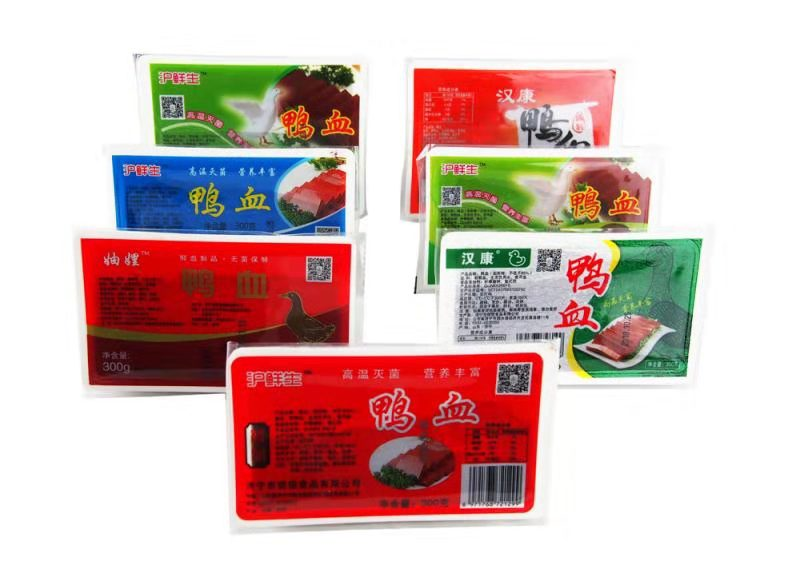 盒装鸭血图片-济宁市铠铠食品供应口碑好的盒装鸭血