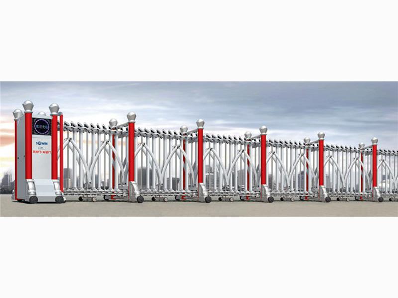 蘭州電動伸縮門廠-物超所值的甘肅電動伸縮門東杰供應