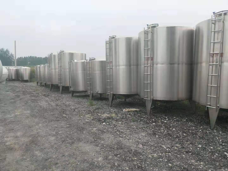 二手不锈钢储罐交易价格-二手50吨不锈钢储存槽