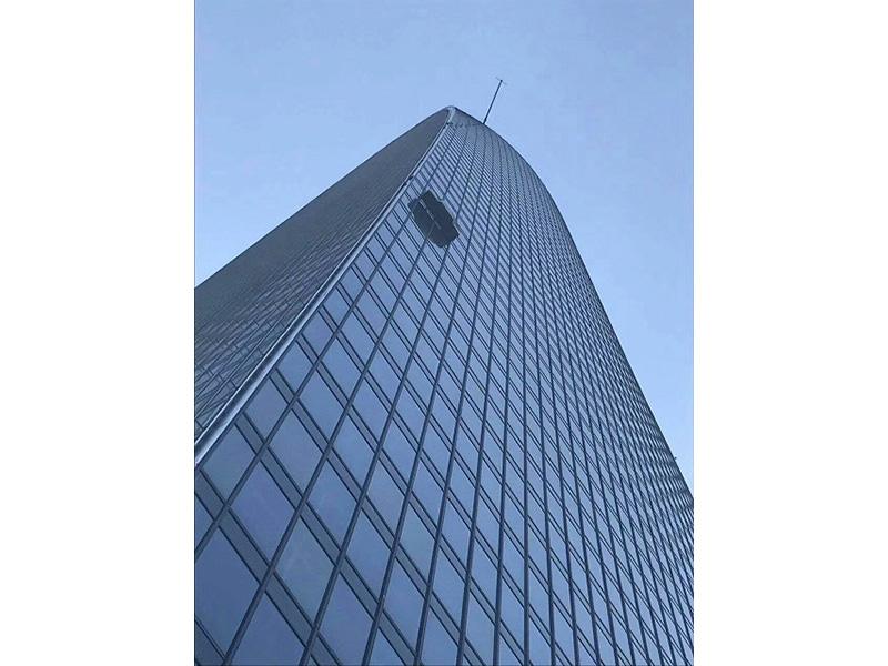 银行安全防爆膜, 幕墙外贴防爆膜, 外贴节能隔热膜