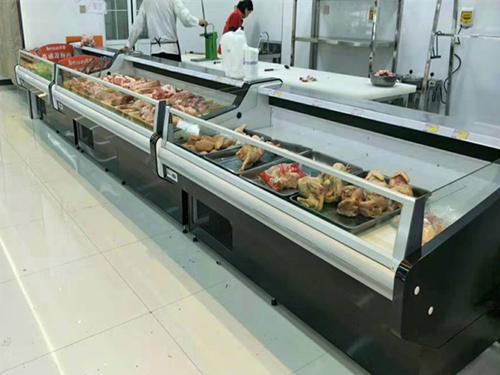 延安冰柜生产厂家_圣飞冷链_质量好的延安商超风幕柜提供商