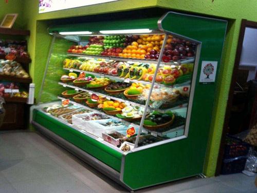 榆林冷冻柜品牌-哪里可以买到榆林商超风幕柜