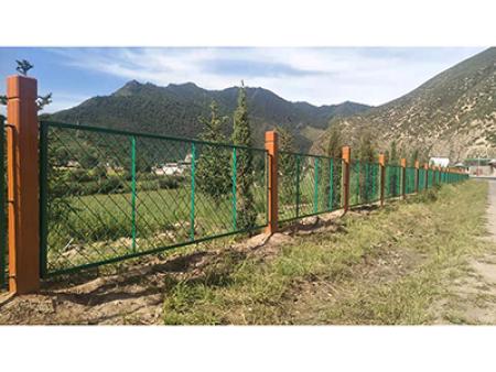 兰州 甘肃新万博铁艺围栏