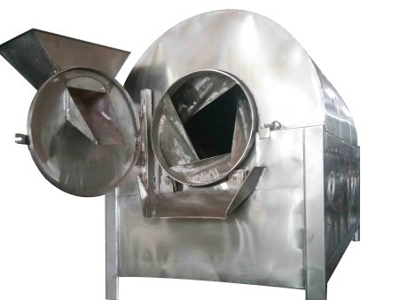 粮食炒货机多功能滚筒炒货机500公斤炒货机