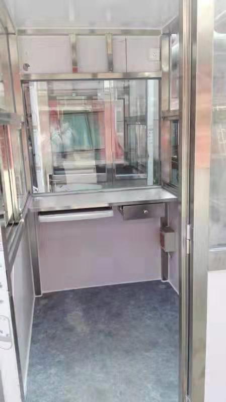 渭南移动岗亭-西安哪里有供应质量好的渭南集装箱岗亭