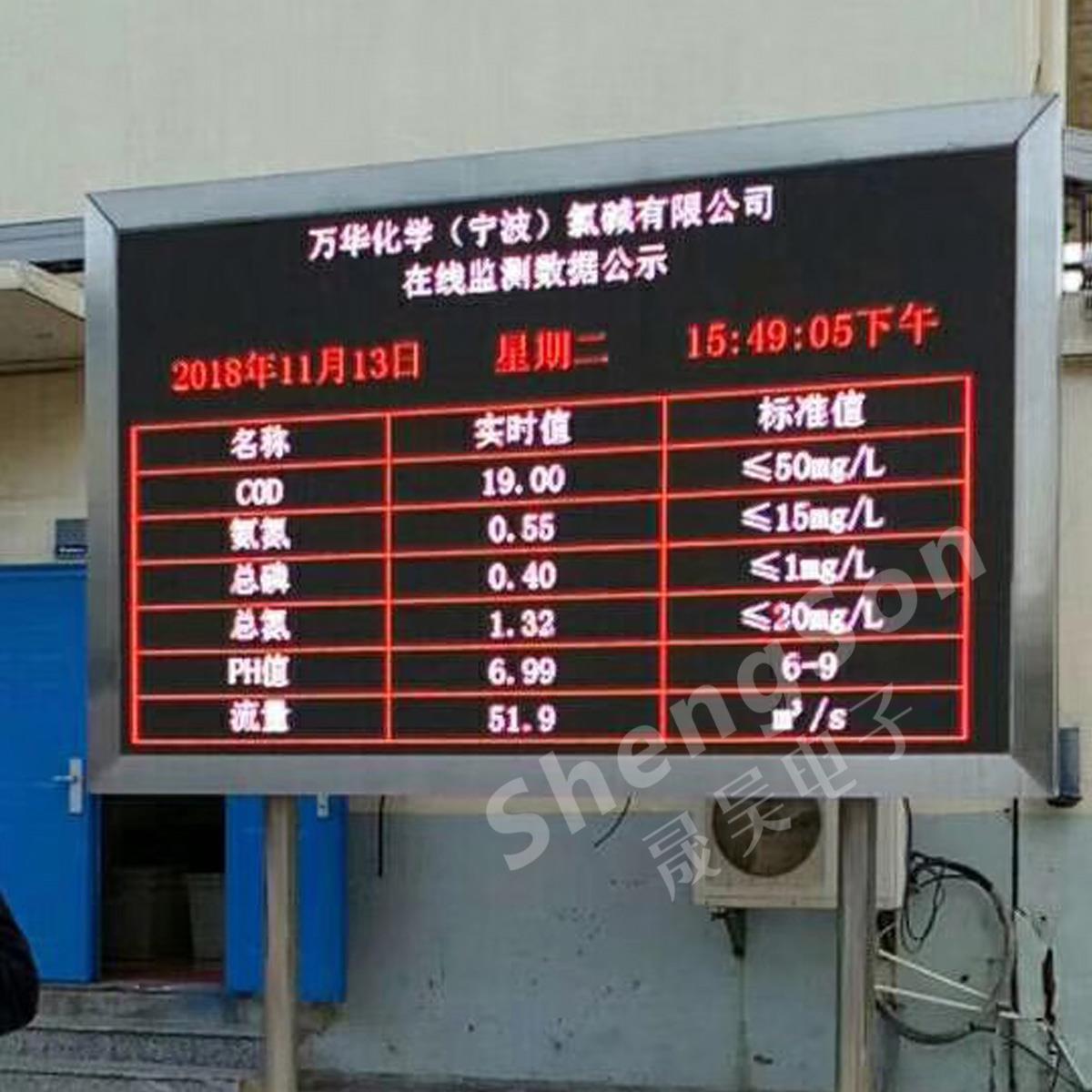 环保公示LED屏厂家-河南环保LED公示屏知名厂家