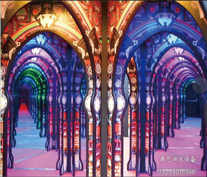 镜子迷宫当选宇宙游乐设备厂 供应游乐设备