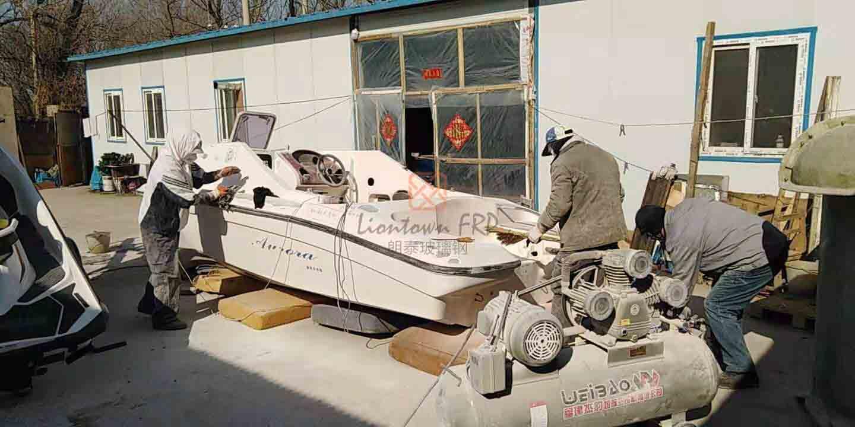 玻璃钢游艇翻新修复 玻璃钢制品修复翻新