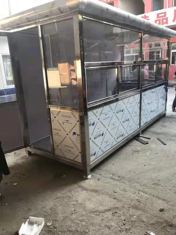 宝鸡不锈钢移动岗亭-口碑好的移动集装箱岗亭供应商当属顺意活动房