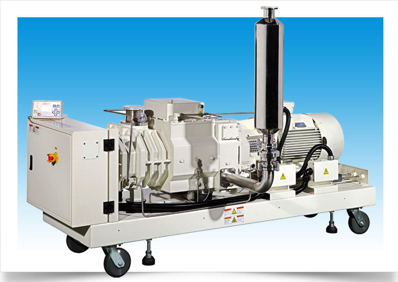 龙门莱宝无油螺杆式真空泵_选购质量好的汉钟螺杆式真空泵就选安申红机电