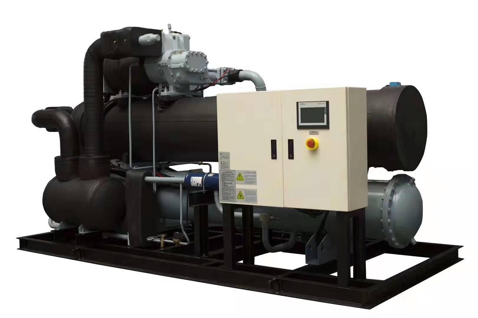 一體化水冷螺桿式工業冷水機組批發-噴淋降膜式冷水機組商是哪家