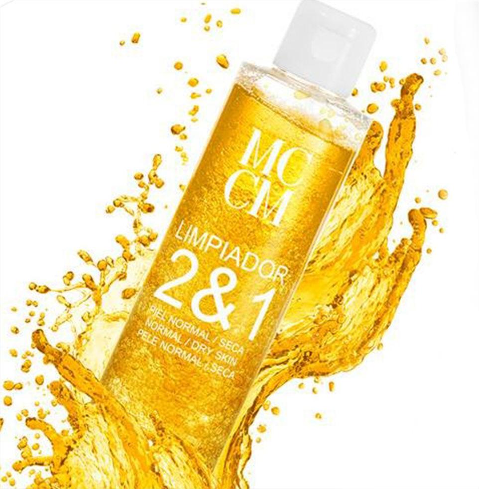 MCCM控油补水产品,MCCM 二合一黄金保湿洁肤露(荐)