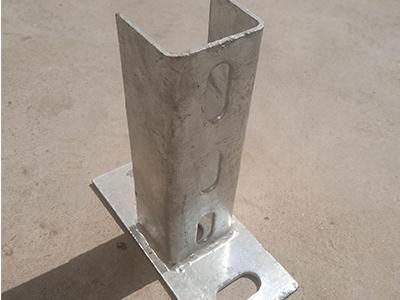 有品质的光伏C钢支架配件15335490588