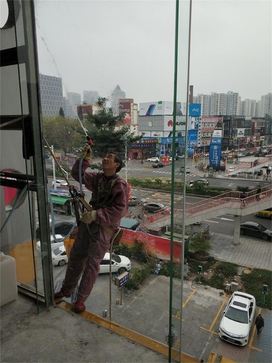 中堂高空外墙清洗_广东靠谱的高空外墙清洗公司