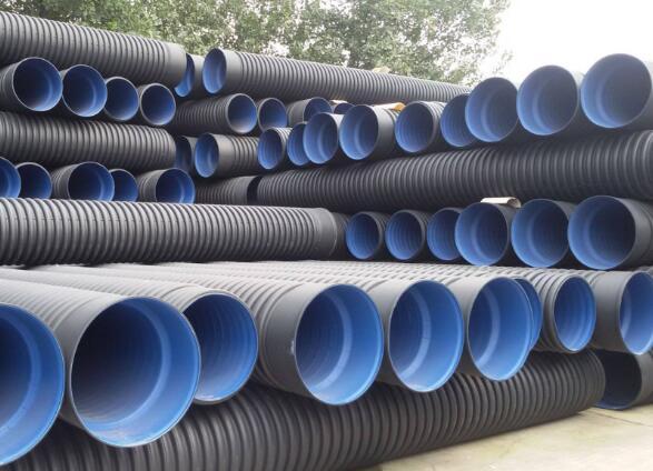 河南HDPE双壁波纹管-HDPE中空壁缠绕管-厂家价格