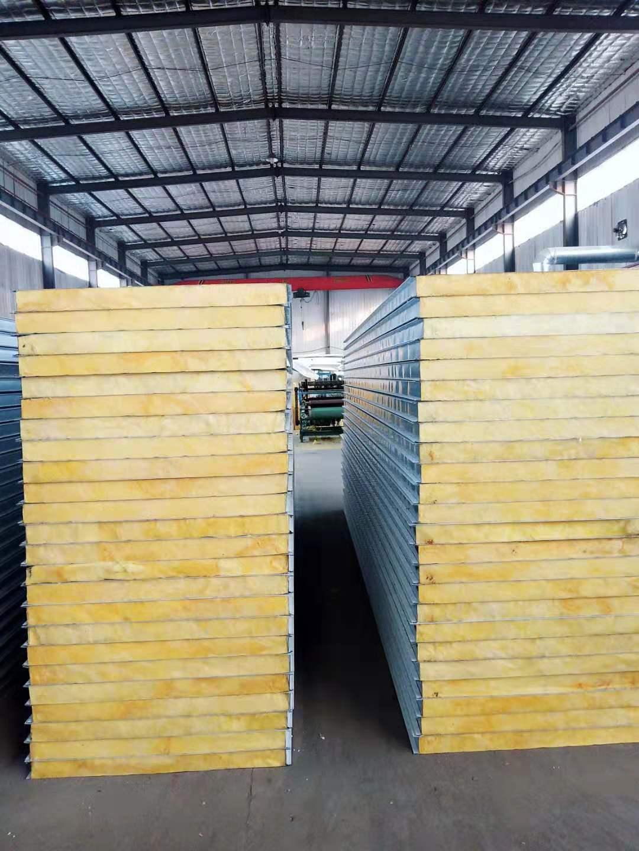 望远玻璃丝棉复合板供应商|想要玻璃丝棉复合板就到银川盛达隆彩钢钢结构