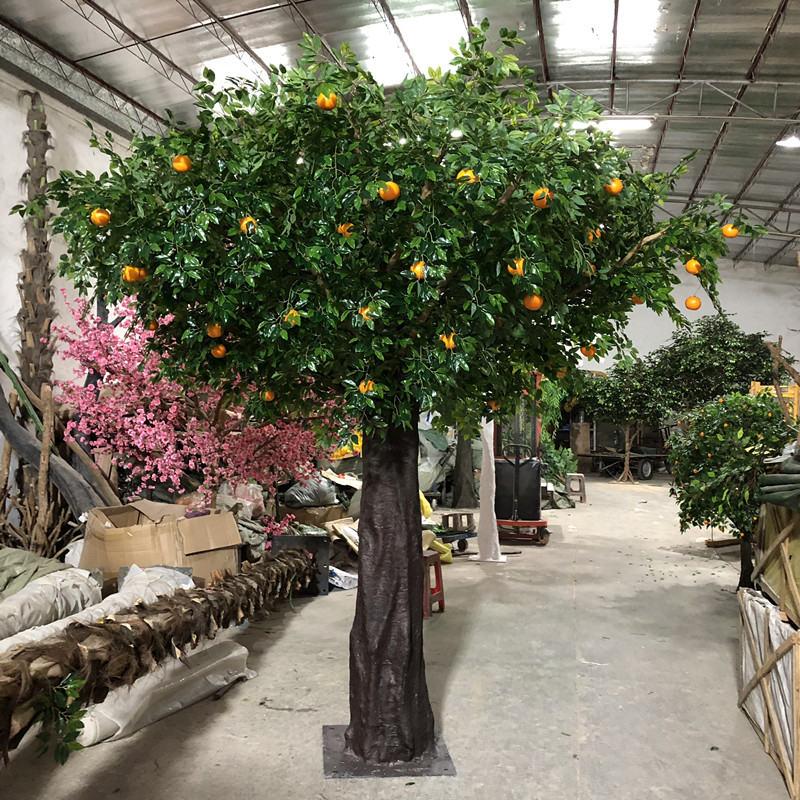 外贸商场仿真水果树 广州的仿真水果树品牌推荐