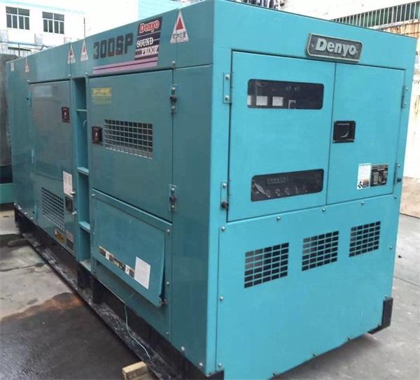 柴油發電機回收-質量好的電友Denyo靜音型柴油發電機-華易動力傾力推薦