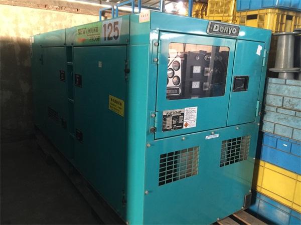 靜音柴油發電機日本電友-專業的新款環保靜音日本電友小松發電機華易動力供應