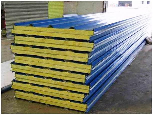 岩棉复合板-岩棉夹芯板-聚苯复合板就选呼伦贝尔海拉尔五洲彩钢