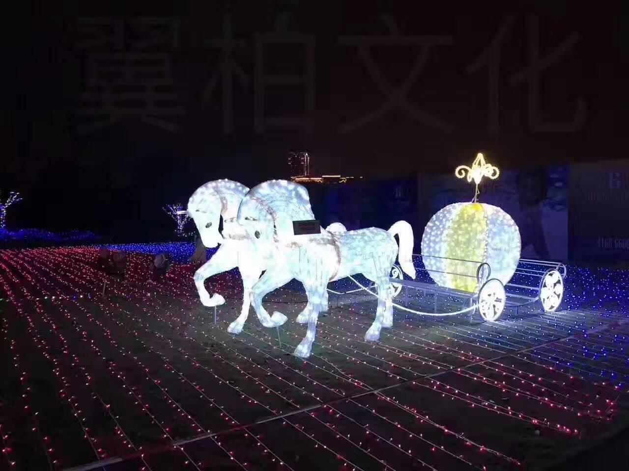 海淀有口碑的灯光节厂家_郑州浪漫灯光节造型出售找亚飞展览