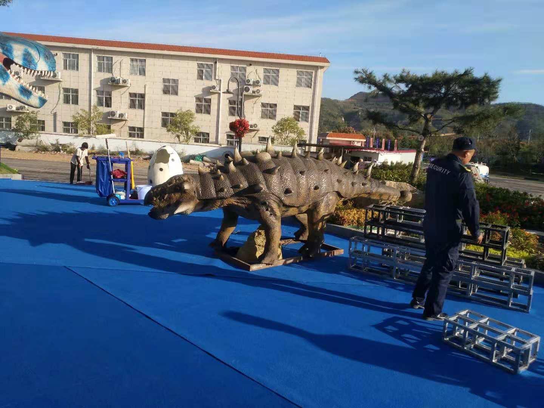 黔东南恐龙展出租口碑好|郑州优惠的仿真恐龙模型展览道具租售推荐