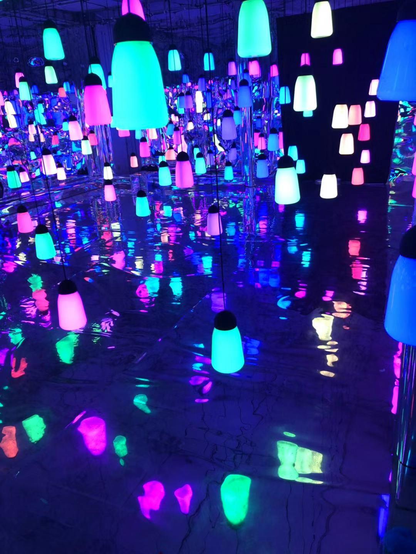 微光森林展覽設備出租,呼吸燈道具租賃