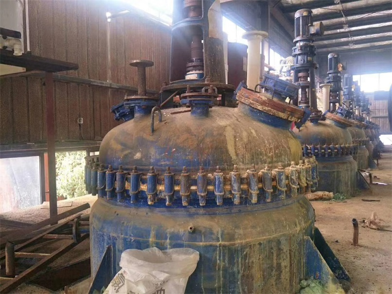 回收搪瓷反应釜服务价格行情|海南搪瓷反应釜回收