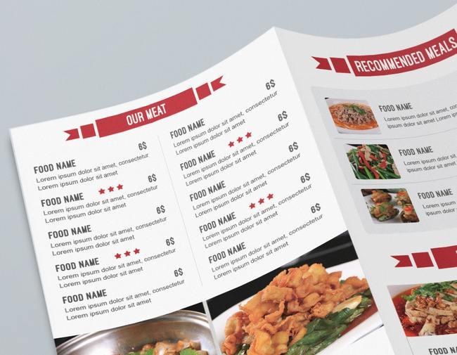 惠州销量好的惠州酒店点菜单-点菜单印刷
