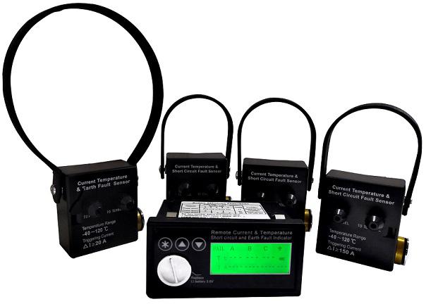 电流温度及故障在线监测仪