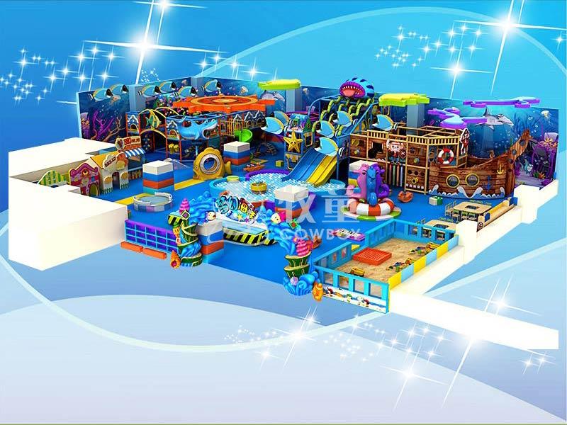 广东室内儿童乐园设施 淘气堡价格