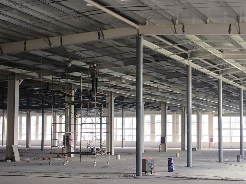 钢结构防火涂料施工