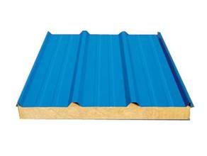 岩棉複合板-聚苯複合板-防火保溫板廠家批發呼倫貝爾五洲彩鋼