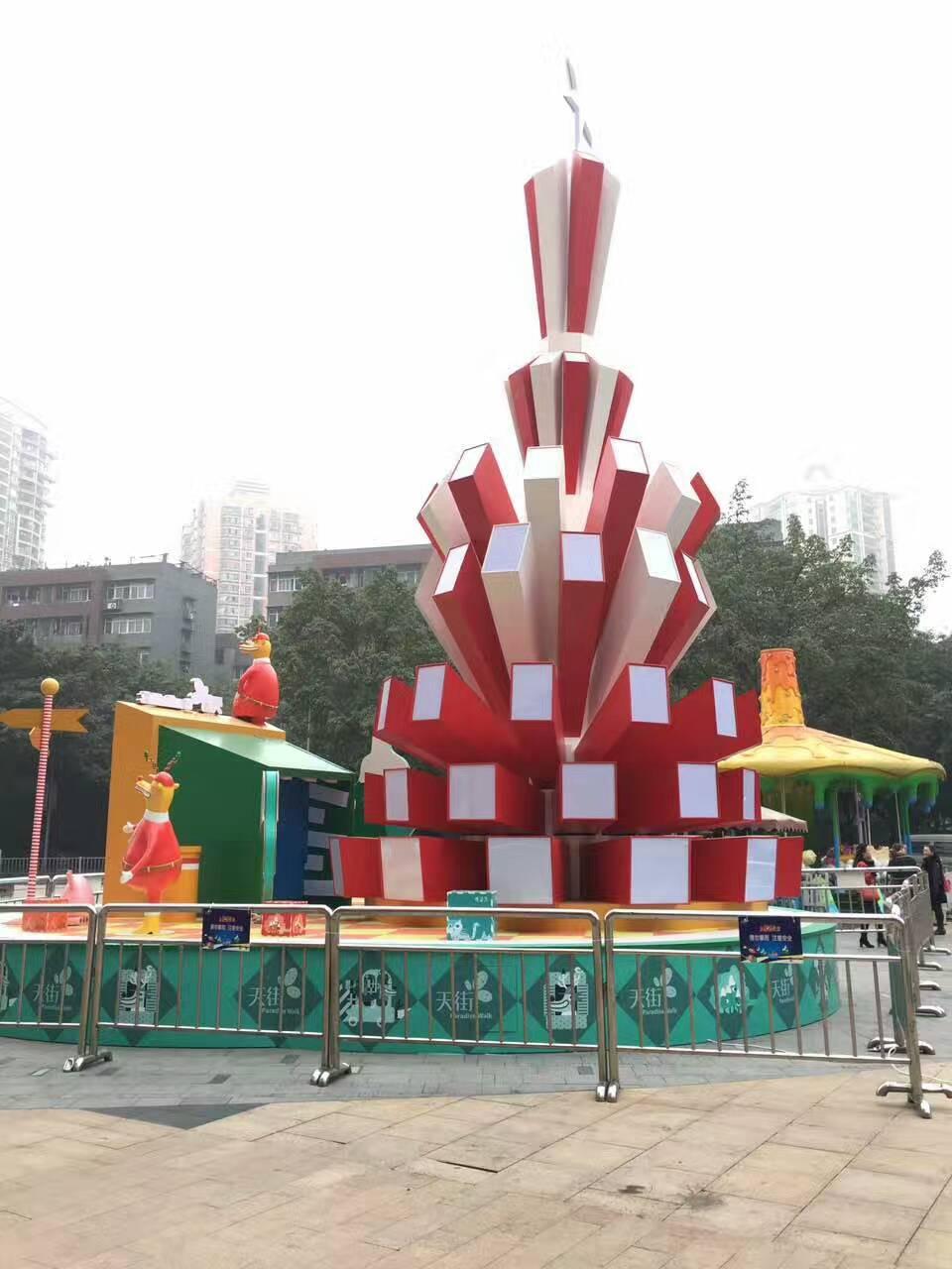 圣诞树厂家出售-口碑好的河南亚飞展览公司