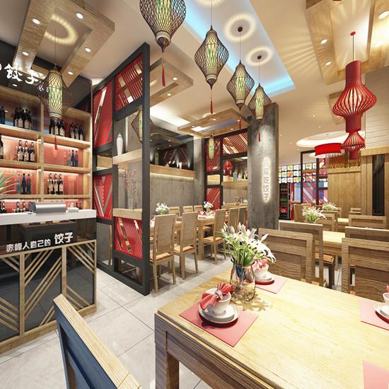 餃子館如何設計讓你食欲大開 鄭州水餃店怎么裝修 餐廳裝修公司