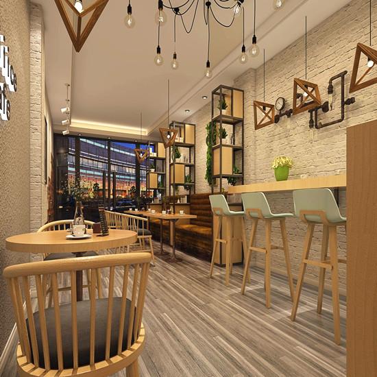 咖啡店小沒關系,不會設計就是你的錯!河南咖啡店裝修哪家好